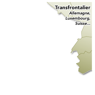 Transfrontalier Allemagne, Suisse, Luxembourg