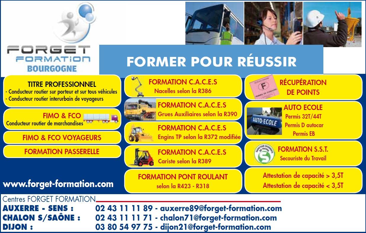 formation transport logistiques s curit forget formation bourgogne forget formation. Black Bedroom Furniture Sets. Home Design Ideas