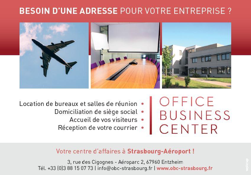 OFFICE BUSINESS CENTER recrute Besoin d'une adresse pour votre entreprise?