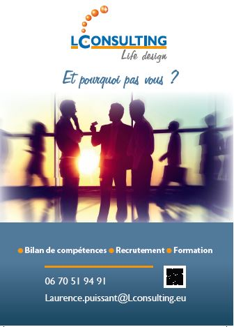 LCONSULTING recrute Bilan de compétences - Recrutement - Formation