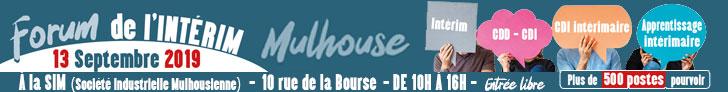 Forum de l'intérim Mulhouse