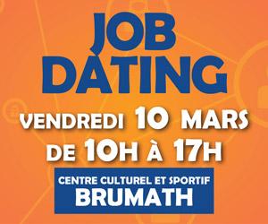 JobDating 10 Mars 2017 Brumath