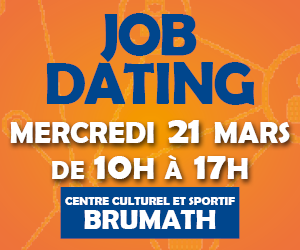 Annonce Job Dating Brumath 2018 carré