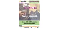 FORUM DE L'INTERIM MULHOUSE LE 14 SEPTEMBRE 2018